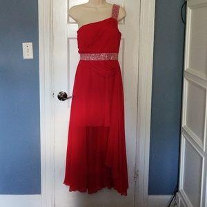 Boutique Double Skirt Party Dress